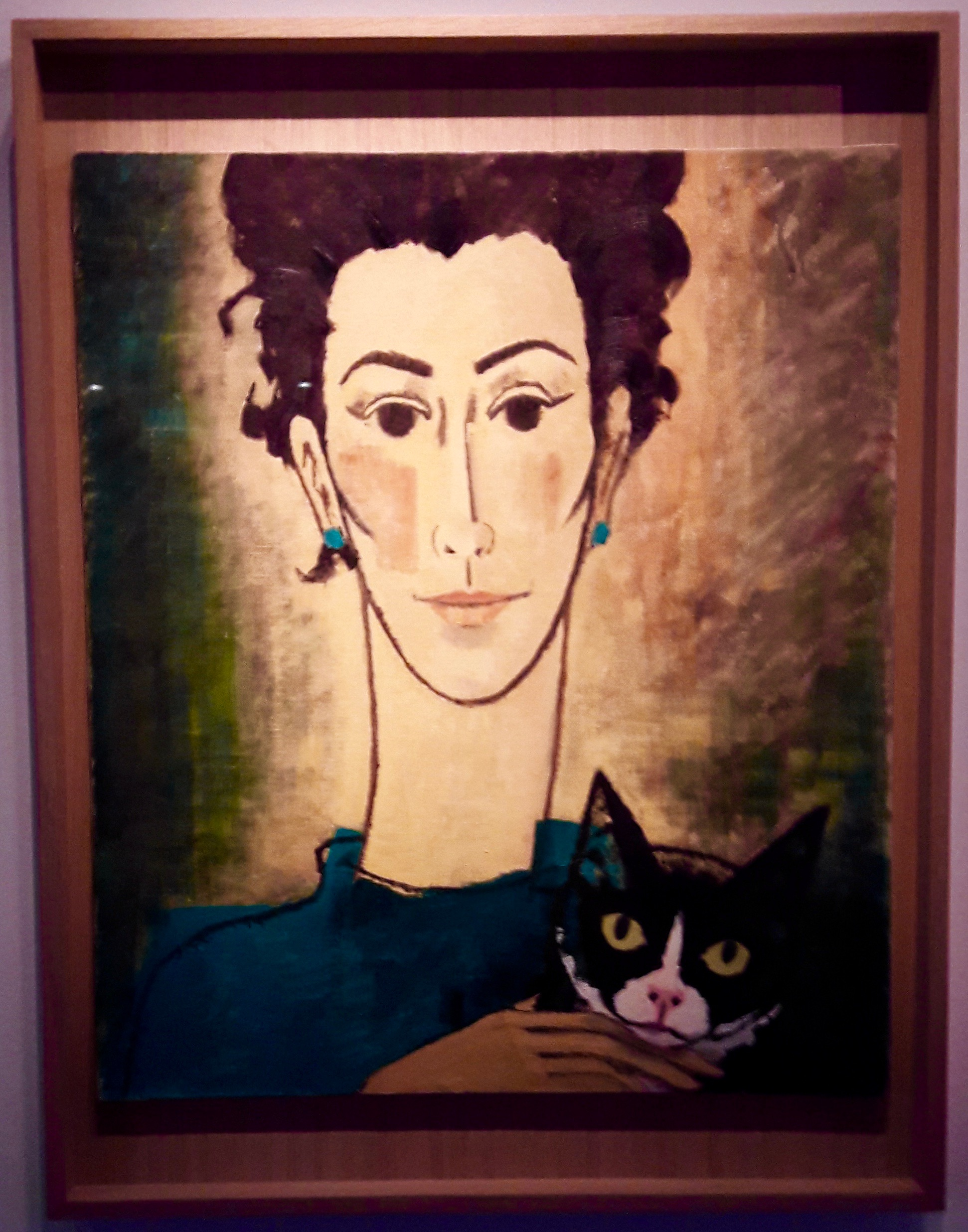 Portrait par Hergé (vers 1960)
