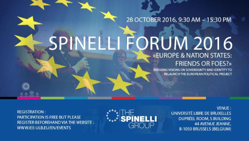 blog  forum spinelli leurope et ses nations amis ou ennemis a bruxelles le octobre