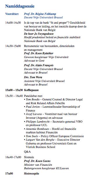 VUB Colloquium 3