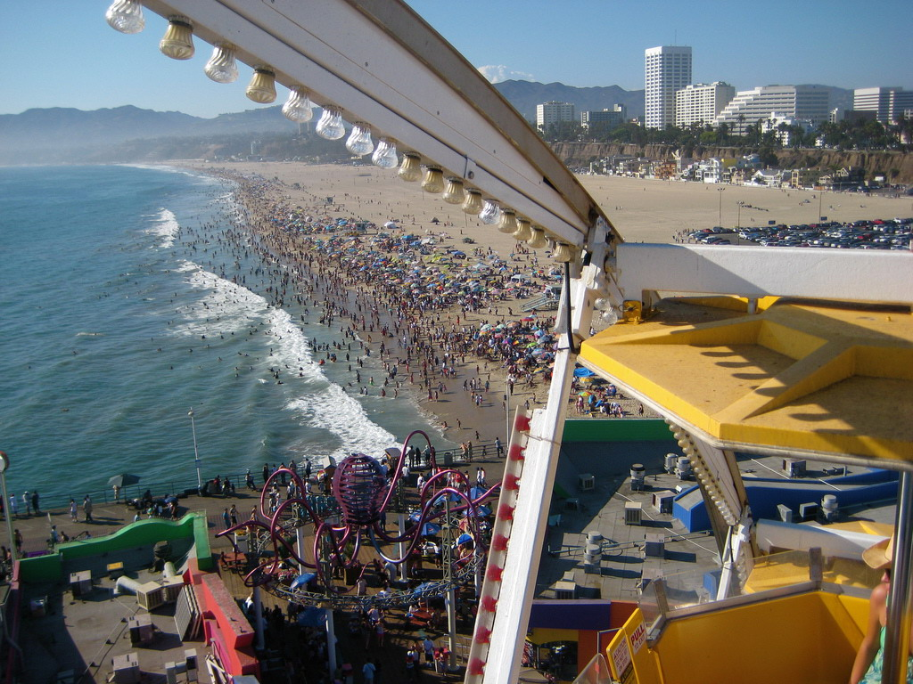 most-famous-places-in-california-santa-monica