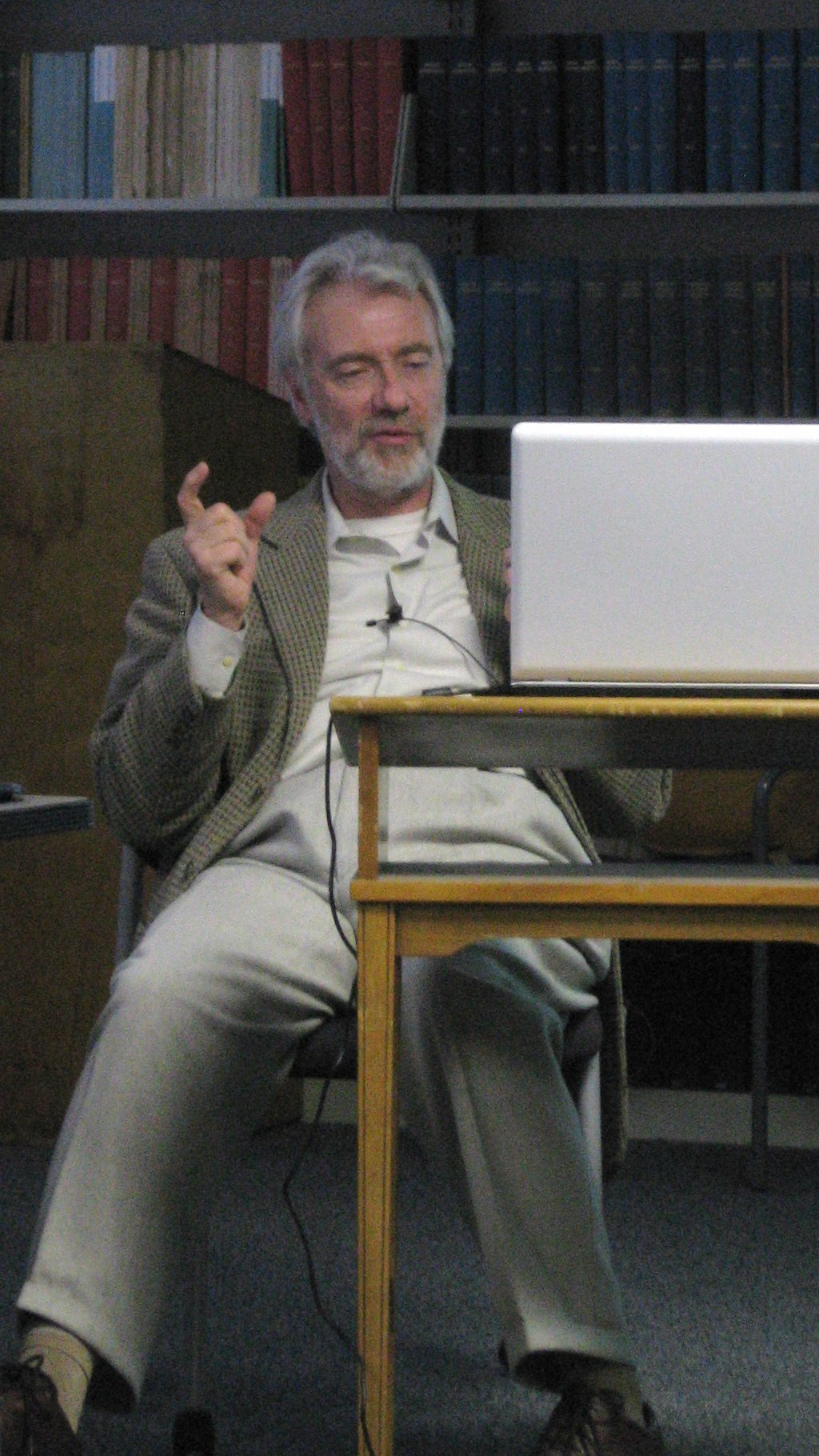 Speaking at UCLA 3/8/2008